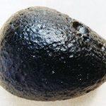 Tektit aus fossilen Elbablagerungen in der Niederlausitz (Tagebau Meuro)