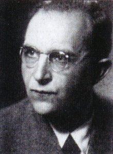 Gustav HERMANN, der Leiter des Heimatmuseums