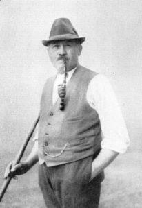 """Der Namensgeber des """"Urwalds"""" Groß Jamno Heinrich Kloß"""
