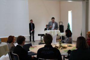 Dr. Wolfgang Bialas, Vorsitzender des Umweltausschusses der Stadtverordnetenversammlung Cottbus